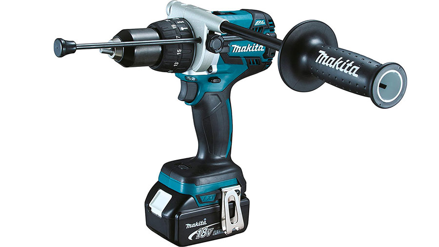Perceuse visseuse à percussion brushless sans fil Makita DHP481RTJ