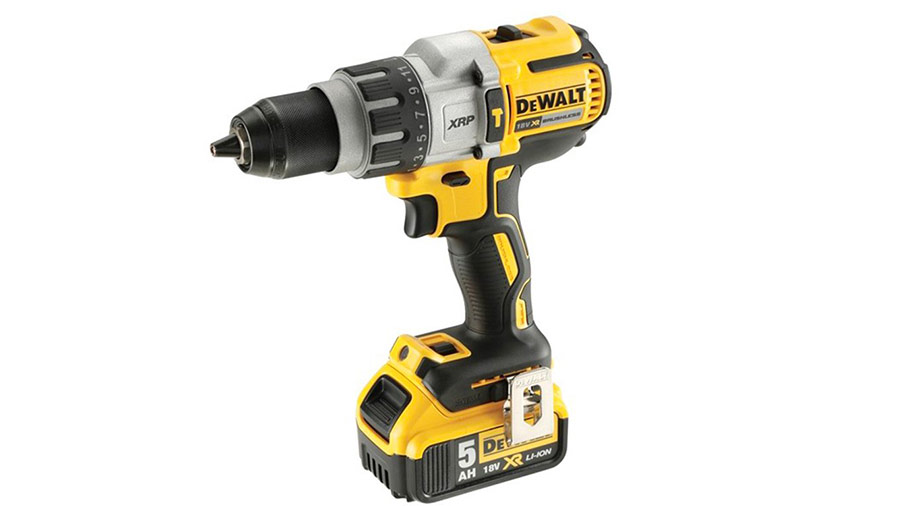 Perceuse à percussion sans fil 18 V DEWALT DCD996