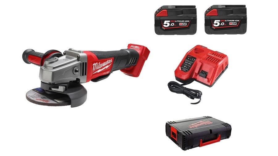 Meuleuse angulaire sans fil 125 mm Milwaukee M18 CAG 125 XPD- 502C