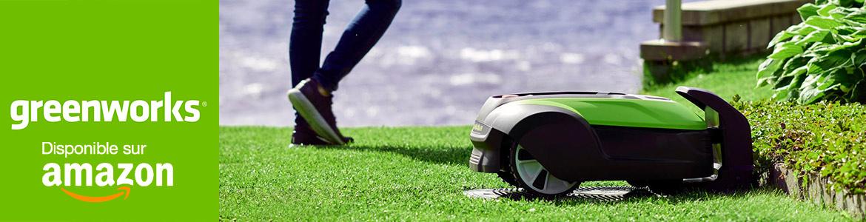 Tondeuse robot Greenworks