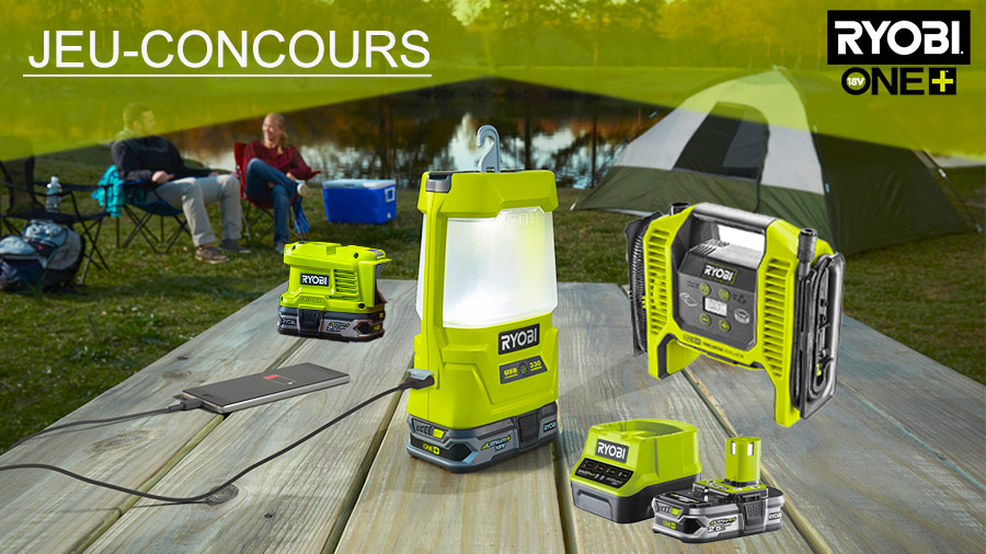 Pack d'outils RYOBI ONE+