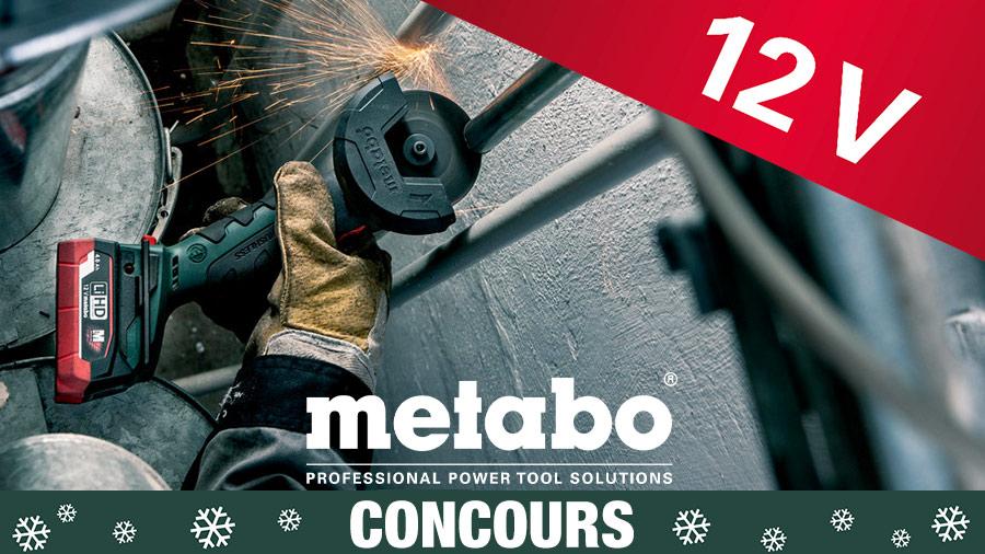 Jeu-concours Metabo spécial Noël 2019