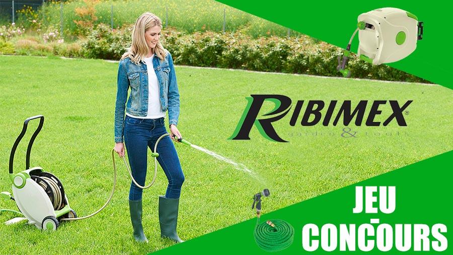 Jeu-concours outils jardin RIBIMEX