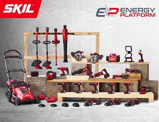 Plateforme d'outils électroportatifs Energy Platform SKIL