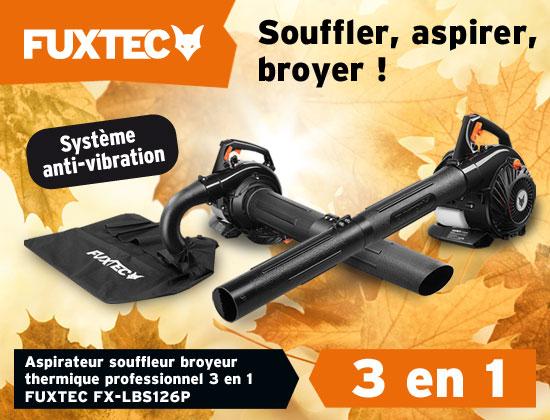 Aspirateur souffleur broyeur FUXTEC