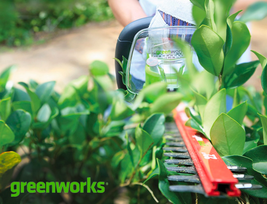 Taille-haies Greenworks