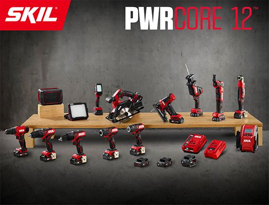 PWR Core 12 outils SKIL
