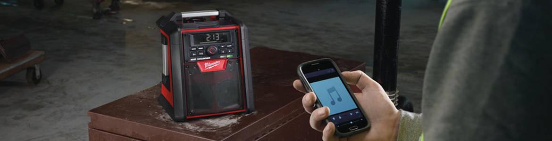 Choisir sa radio de chantier