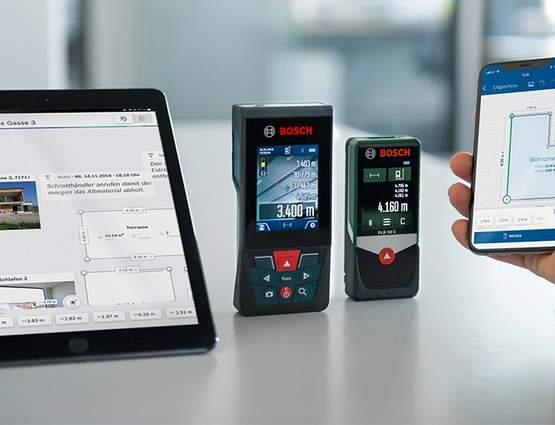 Application de mesure Bosch