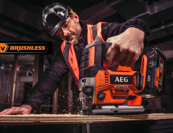 Gamme PRO 18V brushless AEG