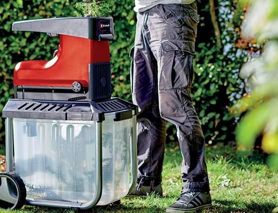 Nouveau broyeur de végétaux électrique GC-RS 60 CB, l'indispensable pour entretenir son jardin