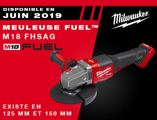 Meuleuse FHSAF FUEL Milwaukee
