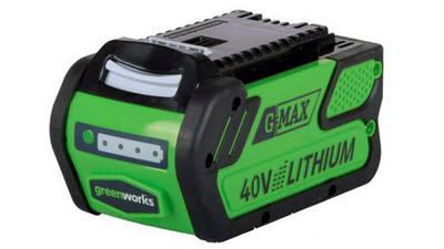 test et avis batterie greenworks 40 V 4,0 Ah G40B4 prix pas cher