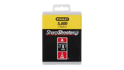 Agrafes 8 mm type A Stanley 1-TRA205-5T