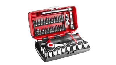 """Facom R360NANO.PG Coffret Compact de serrage 1/4"""" avec set de vissage 38 outils prix pas cher"""