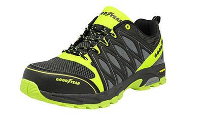 Goodyear Gyshu1503, Chaussures de Sécurité Homme prix pas cher vert et noir