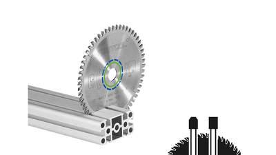 lame de scie circulaire Aluminium/plastics 496306 HW 160x2,2x20 TF52 Festool