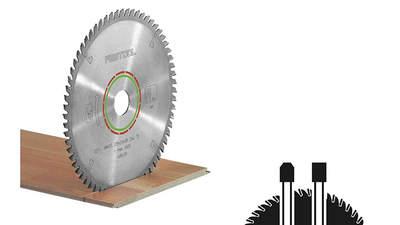 lame de scie circulaire Laminate/HPL 496308 HW 160x2,2x20 TF48 Festool
