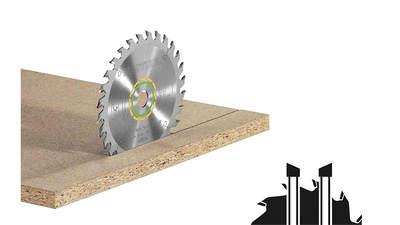 lame de scie circulaire Wood Universal 496302 HW 160x2,2x20 W28 Festool