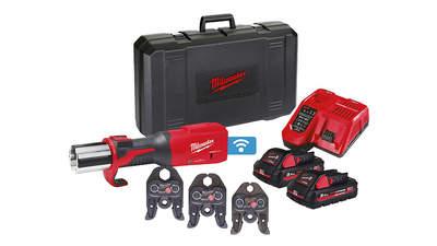 sertisseuse hydraulique sur batterie Force Logic M18 ONEBLHPT-302C M-SET 4933478310 Milwaukee