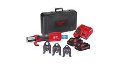 sertisseuse hydraulique sur batterie Force Logic M18 ONEBLHPT-302C TH-SET 4933478307 Milwaukee