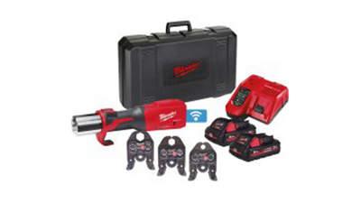 sertisseuse hydraulique sur batterie Force Logic M18 ONEBLHPT-302C V-SET 4933478308 Milwaukee