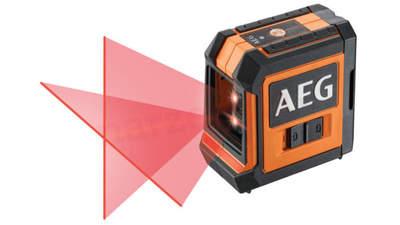 niveau laser rouge 2 lignes AEG CLR215-B