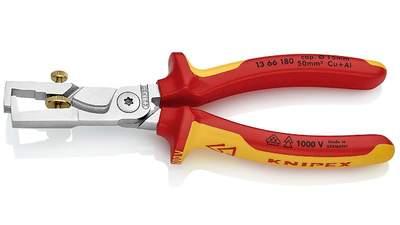 Pince à dénuder et coupe-câbles StriX KNIPEX 13 66 180