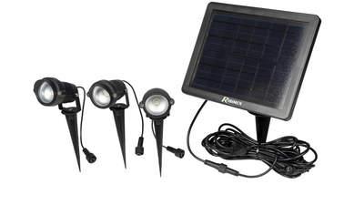 spots solaires X 3  Rondo PRLUMSOL/SP91X3 Ribimex