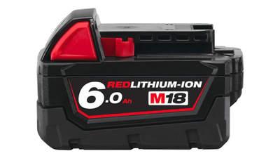 avis et prix batterie milwaukee 18 V 6,0 Ah M18 B6