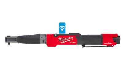 Clé à cliquet dynamométrique sur batterie Milwaukee M12 ONEFTR38-201C
