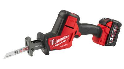 Test complet : Scie sabre sans fil Milwaukee M18 FHZ-502X