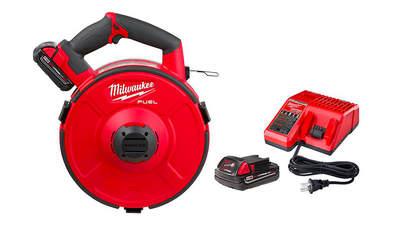 Tir fil sur batterie Milwaukee M18 FPFT-202 30 m NC Set 4933471954