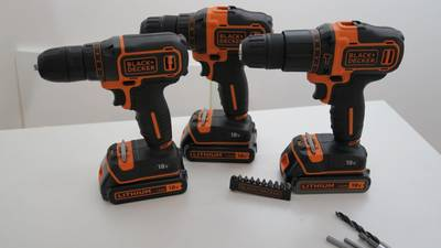 Perceuses visseuse 18 Volts BLACK+DECKER © Benjamin LEHARIVEL - Zone Outillage