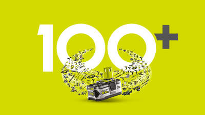 La gamme 18V ONE+ RYOBI comporte maintenant 100 outils