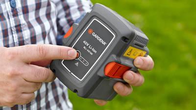 Batterie 40 Volts de Gardena HeartBeat System