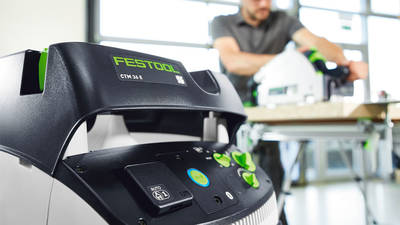 Festool propose une nouvelle génération d'aspirateurs de chantier