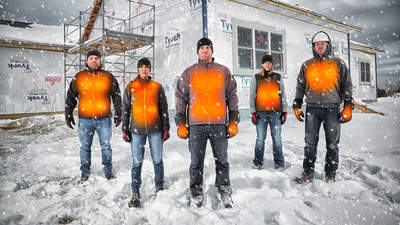 Blousons chauffant Milwaukee : la gamme la plus complète du marché