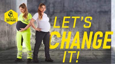 Blåkläder propose désormais des pantalons de grossesse