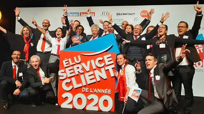 LOXAM élu Service Client de l'Année2020 par Viséo Customer