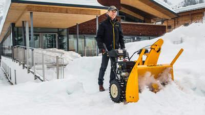 Équipez-vous pour l'hiver avec les nouvelles fraises à neigeXS3 71SWE et XS3 76TDE Cub Cadet
