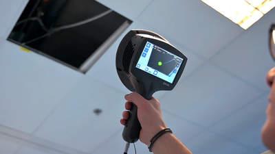 caméra d'imagerie acoustique industrielle FLIR Si124