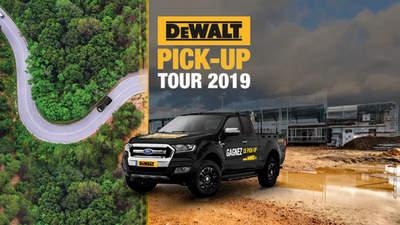 Stand DEWALT pick-up tour 2019