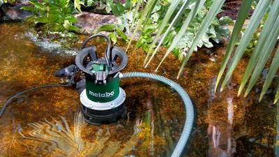 Notre sélection des meilleures pompes submersibles