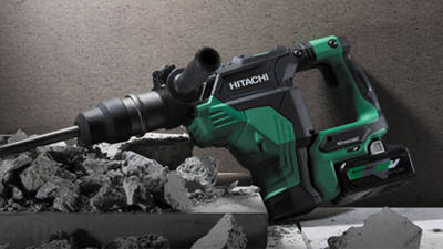 HiKOKI lance son premier perforateur burineur DH36DMA SDS-Max sans fil