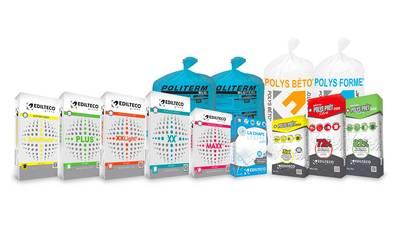 Nouveaux packagings des gammes sol d'Edilteco