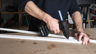 Pistolet à colle PRBAT20/PCOLSB Ribimex