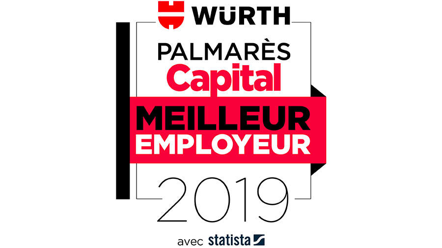 Palmares capital Würth Meilleur employeur 2019