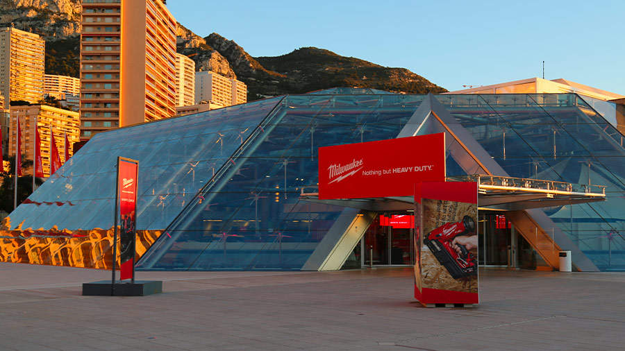 Milwaukee présentait ses innovations à sa convention annuelle de Monte Carlo
