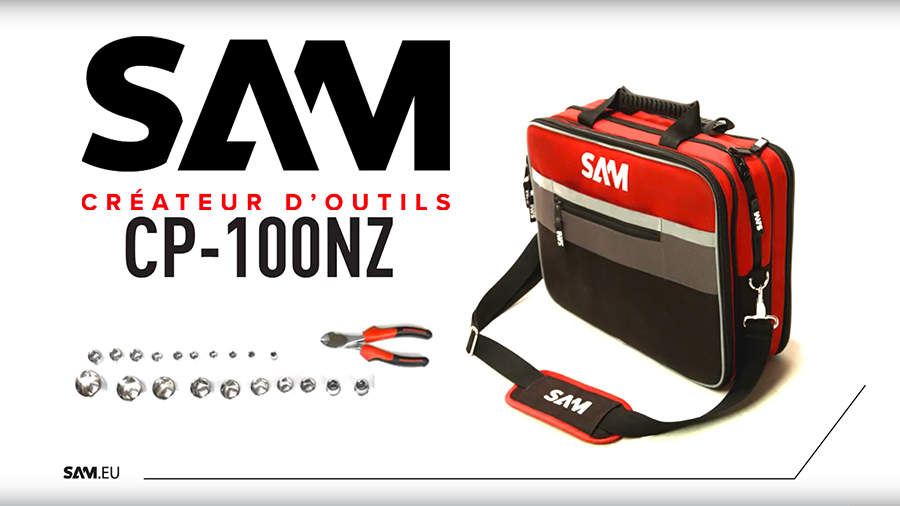 SAM Outillage CP-100NZ : la mallette textile idéale pour la maintenance itinérante